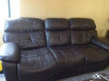 Couch set with recliner for sale in Plainfield, Illinois