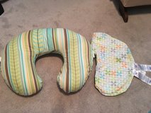 Boppy nursing pillow with extra cover in Warner Robins, Georgia