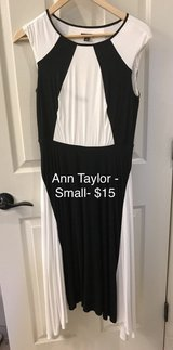 Ann Taylor, size Small, black and white dress in Fairfax, Virginia