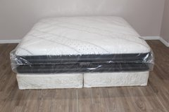King Size Stearns and Foster Hope Luxury Firm Model Mattress in CyFair, Texas
