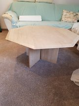 Stone living room table in Ramstein, Germany