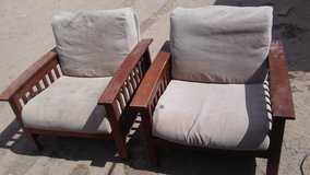 Pair of chairs in Alamogordo, New Mexico