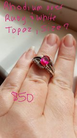 Sterling Silver Ruby ring in Beaufort, South Carolina