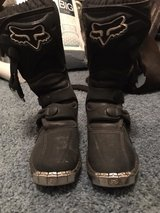 Youth Foxx dirt bike boots in Conroe, Texas