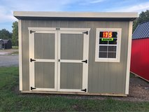 8x12 Garden Shed in Fort Polk, Louisiana