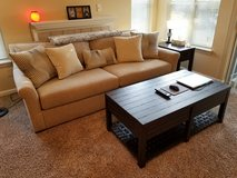 Sofa, Coffee Table, Side Table, and TV Stand in Camp Lejeune, North Carolina