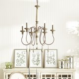 Austin Allen & Company Zoe Collection 6-light French Antique Chandelier in Chicago, Illinois