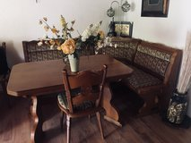German old dinning table set in Ramstein, Germany