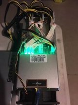 Miner with PSU in stock Bitmain Antminer S9 - 13.5TH/s 16nm ASIC Bitcoin in Elizabethtown, Kentucky