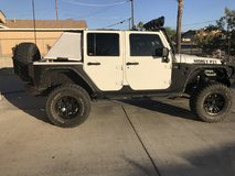 09' Jeep Wrangler JK unlimited in 29 Palms, California