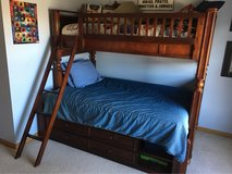 Solid Wood Bunk Bed in Sandwich, Illinois