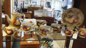 Vintage ENESCO ceramic tableware with fruit in Bartlett, Illinois