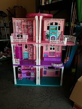 Barbie doll house in Fort Campbell, Kentucky