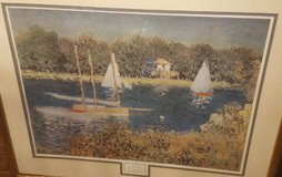 Monet painting repoudced in Perry, Georgia