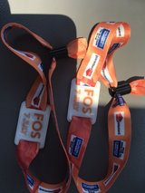 2 front of stage wristbands to see Steven Tyler at Rib Fest in Bolingbrook, Illinois