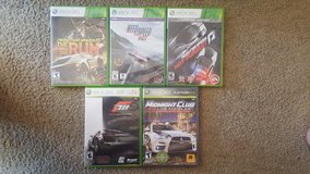 XBOX 360 Racing GAMES in Westmont, Illinois