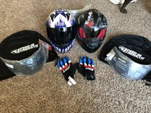 Speed and strength helmets in Fort Carson, Colorado