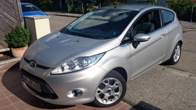 2011 Silver Ford Fiesta – Titanium Edition w/Alu wheels & many features! in Hohenfels, Germany