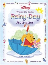 Disney Winnie the Pooh's Rainy-Day Activities Hard Cover Book Age 4 - 7 * Grade Preschool - 2nd in Plainfield, Illinois