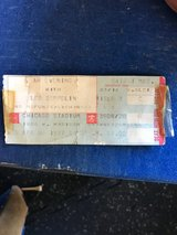 1977 Led Zeppelin Ticket Stub. in Yorkville, Illinois
