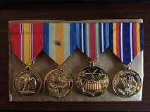 Professionally Mounted Medals ready to go in Oceanside, California