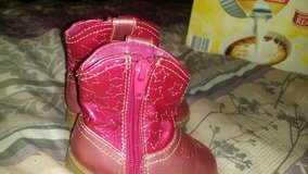 PINK BOOTS in Fort Campbell, Kentucky