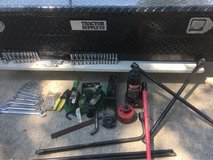Truck tool box in Fort Riley, Kansas
