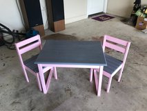 Children table and chair set in Leesville, Louisiana
