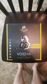 Corsair Void RGB wireless gaming headset in Cherry Point, North Carolina