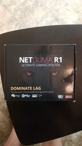 Netduma R1 ultimate gaming router in Cherry Point, North Carolina