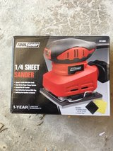 Tool Shop 1/4 Sheet Sander in Oswego, Illinois