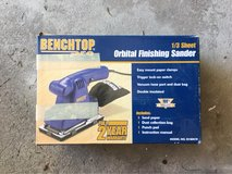 Benchtop Pro Orbital Finishing Sander in St. Charles, Illinois