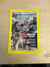 National Geographic July 1984 magazine in Evansville, Indiana