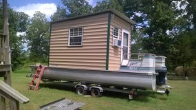 Red-Neck House Boat in Conroe, Texas