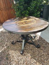 Beautiful hard wood table Refinished in Temecula, California