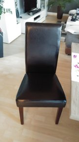 6 Dinning room chairs with covers in Grafenwoehr, GE