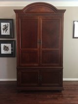 Cherry TV Armoire Cabinet in Clarksville, Tennessee
