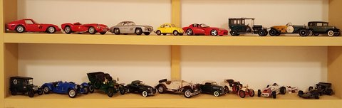 17 Model Cars in Bolling AFB, DC