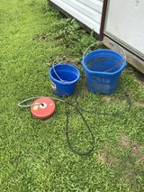 heater buckets and an ice floater.  UPDATE in Camp Lejeune, North Carolina