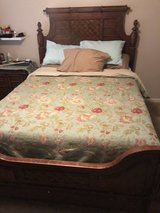 Queen Mattress set with Head and Foot Board in Fort Rucker, Alabama