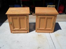 2 White Clad End Tables in Sandwich, Illinois