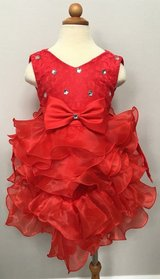 4T Red Ruffle Special Occasion Dress in Elgin, Illinois
