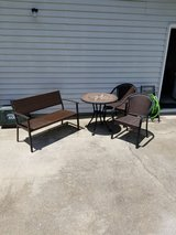 4-piece outdoor dining/bistro set in Cherry Point, North Carolina