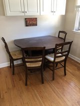 Pottery Barn Shayne table and 4 chairs kitchen or dining in Westmont, Illinois