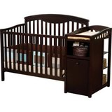 Crib with changing table in Fort Bliss, Texas