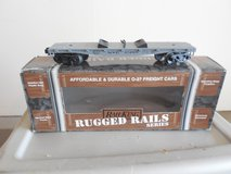 Rail King 027 Gauge Flat Car Carrier - with Box in Yorkville, Illinois