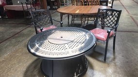 New fire pit with 2 chairs ashley in Clarksville, Tennessee