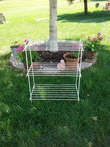 Shabby   Metal Rack in Glendale Heights, Illinois