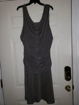 Grey/Gold Party Dress in Fort Campbell, Kentucky