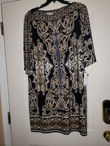 Paisley Gray/Black Dress in Fort Campbell, Kentucky